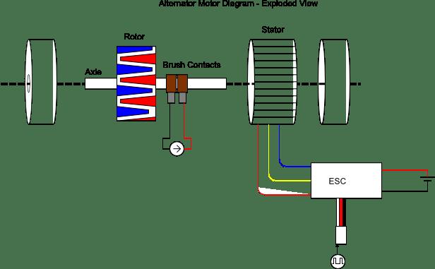 circuit diagram quadcopter