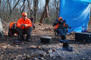 Deer Camp on Eleven Point River