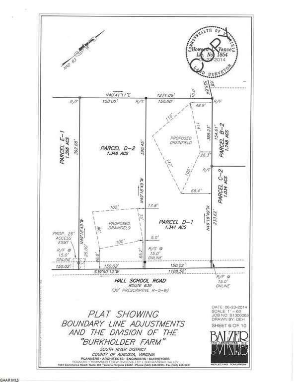 Tbd D2 Hall School Rd, Waynesboro, VA 22980 - Land For Sale and Real