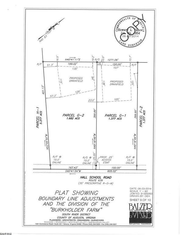 Tbd G2 Hall School Rd, Waynesboro, VA 22980 - Recently Sold Land