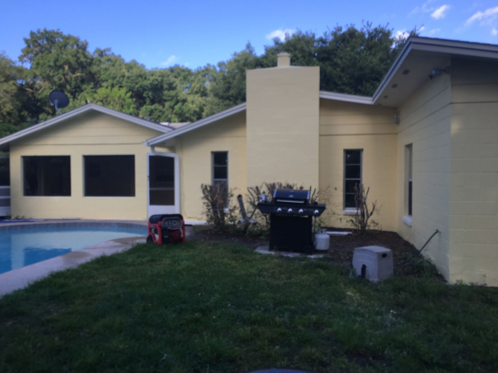 Orange Exterior Paint Exterior Painting Project In Orange County Florida