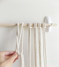 DIY MACRAME WALL HANGING  a pair & a spare