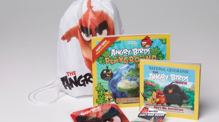 Angry Birds Swag Bag Giveaway CAN/US 5/30