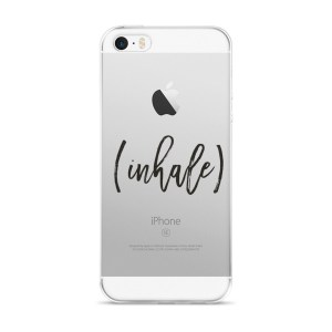(Inhale) iPhone case