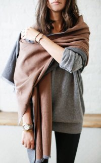 5 New Ways to Tie a Scarf | Apartment34 | Fashion + Style