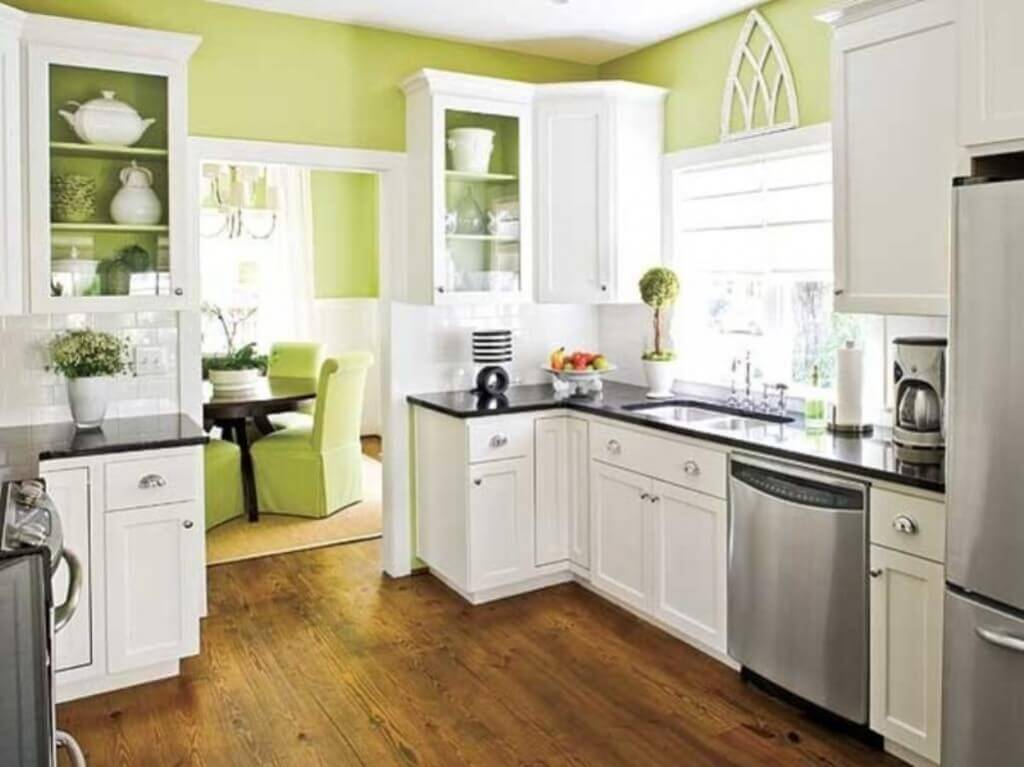 White Green Kitchen Ideas Small Kitchen Remodel Cost Guide – Apartment Geeks