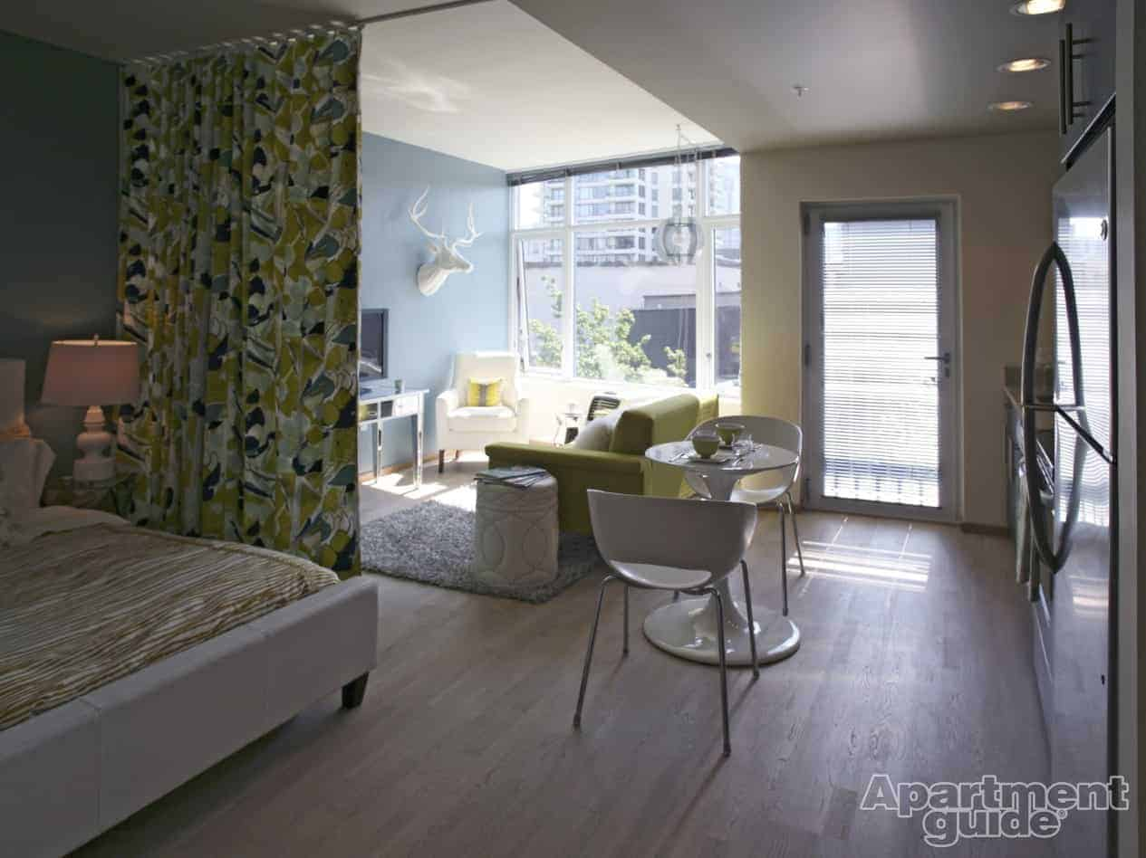 Studio Bed Divider 9 Tips To Make Your Studio Apartment A Tiny Treasure