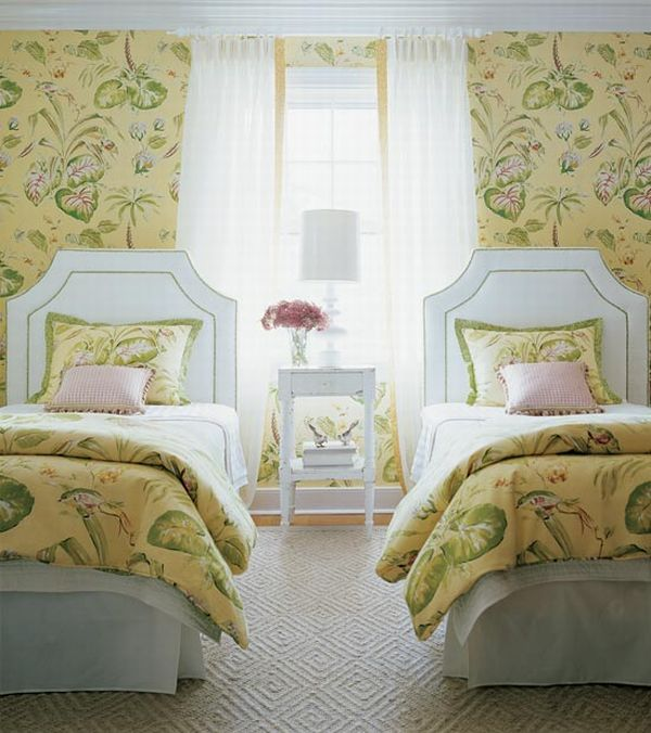 Chic French Country Decorating Idea - country bedroom decorating ideas
