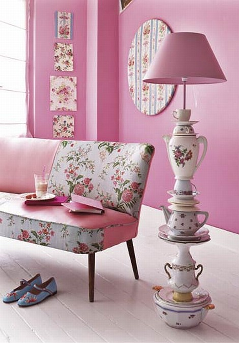 Home 24 Schlafsofas Pink Flower Decor | Apartments I Like Blog