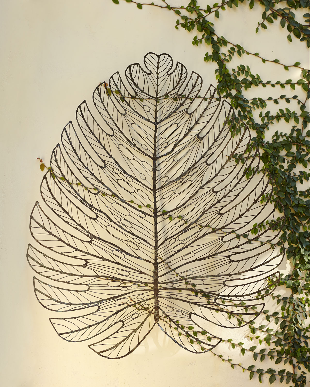Leaf Metal Wall Art Leaf Decor Apartments I Like Blog