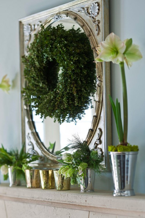 christmas-greenery-holiday-decorating-ideas