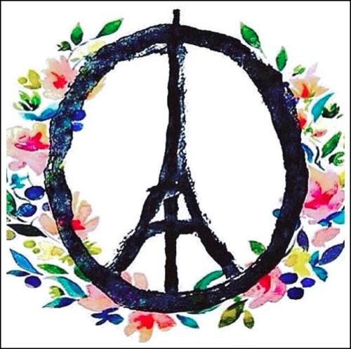 Artist-Jean-Jullien-Paris-Peace-Symbol-