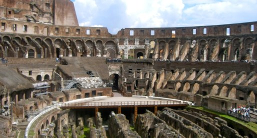 C is for COLOSSEUM; a trip to ancient Rome