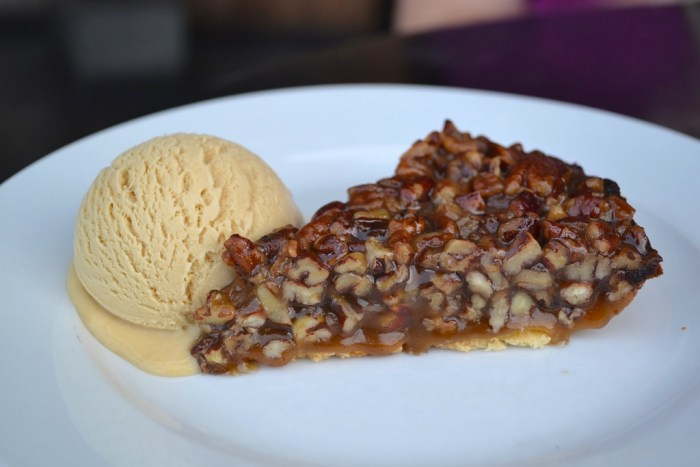 pecan pie from The Churchill