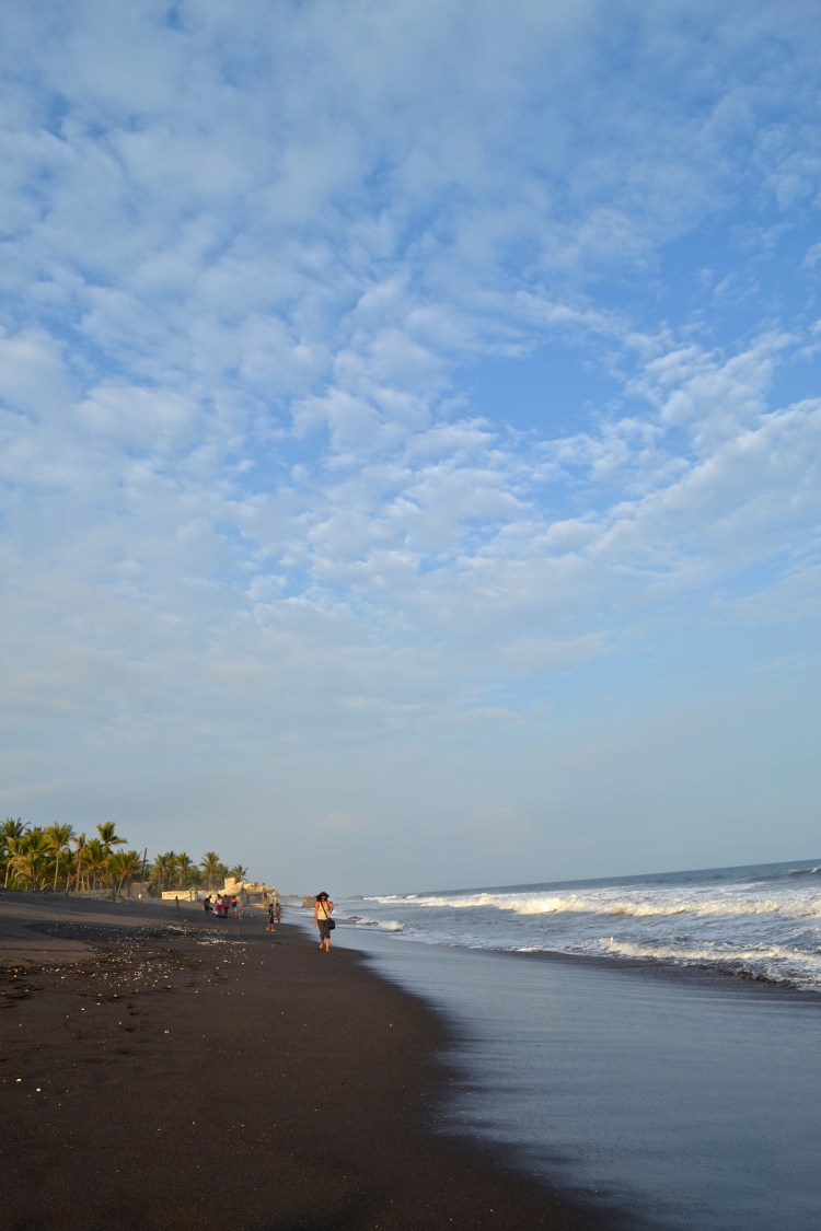 things to do in guatemala black sand beach