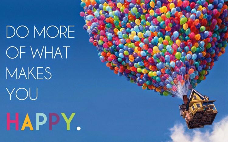 Do More of What Makes YOU Happy | www.apassionandapassport.com