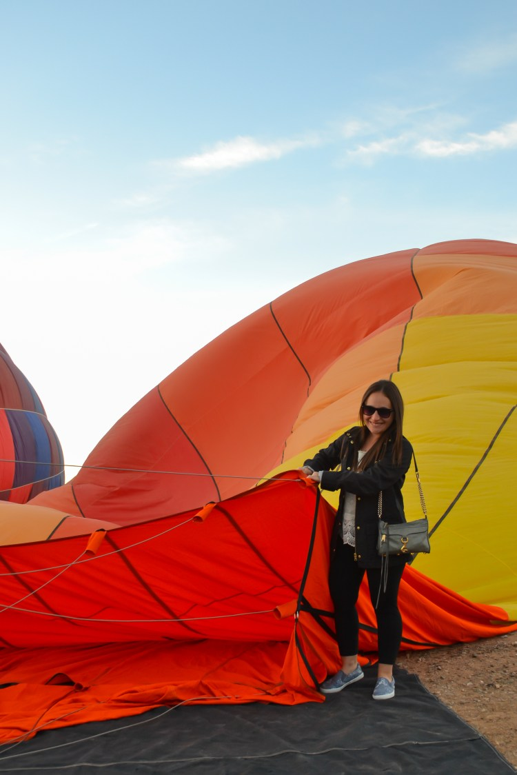 Hot Air Balloon Ride in Scottsdale, Arizona  >> what you need to know before you take off (PHOTOS) | www.apassionandapassport.com