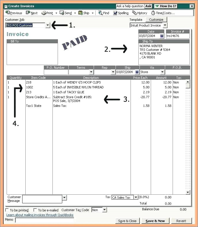 Invoice Template Quickbooks Colbroco - How to make an invoice on quickbooks