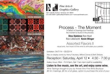 Process the Moment - art exhibit at apc