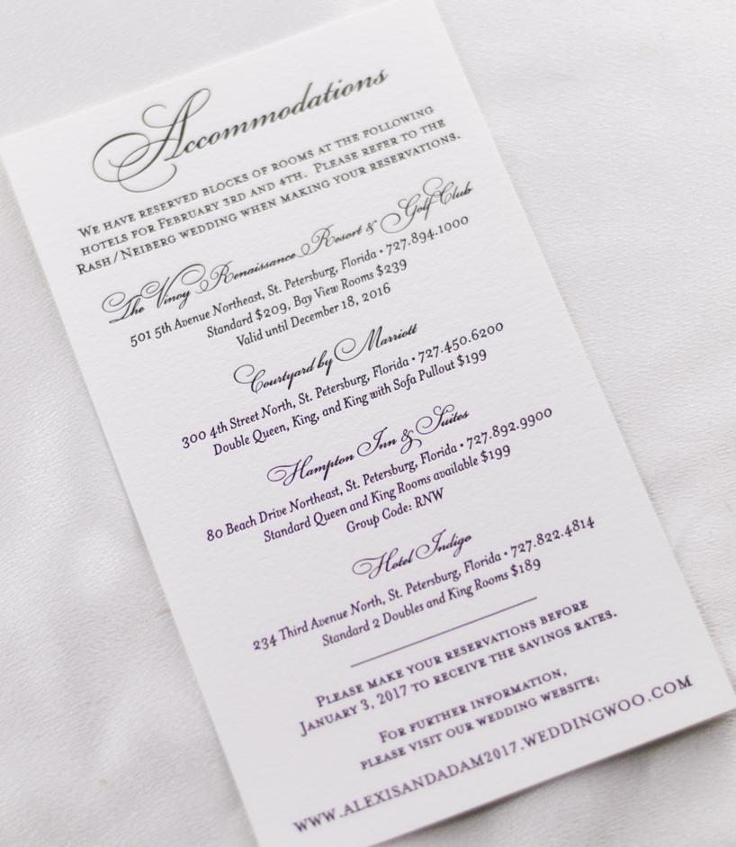 black-white-traditional-wedding-invitations - AP Designs
