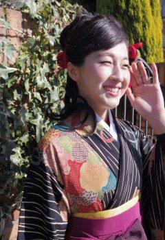 卒業式ヘアメイク袴の着付け5