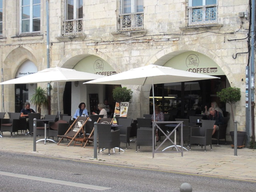 Garden Coffee La Rochelle French Coffee Shop Bar à La Rochelle