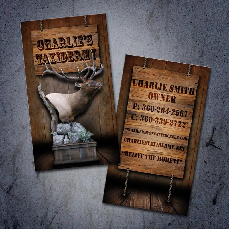website design business cards