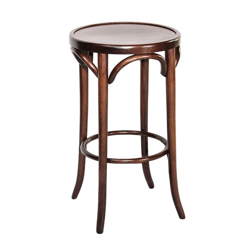 Thonet Michael Genuine Bentwood Kitchen Counter Stool By Michael Thonet 61cm