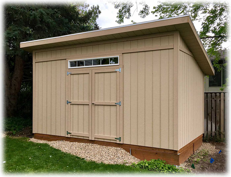Lean To Style Storage Sheds