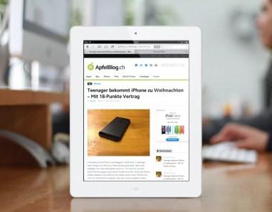 ApfelBlog.ch iPad Weiss