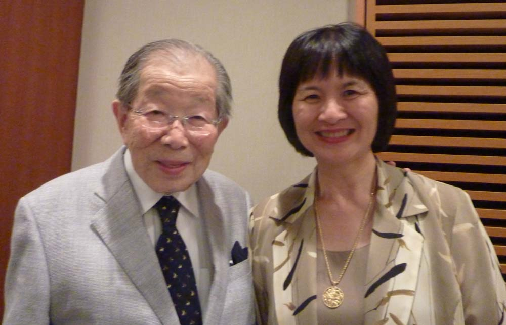 Our Patron, Dr Shigeaki Hinohara turns 100 on this 4th October 2011