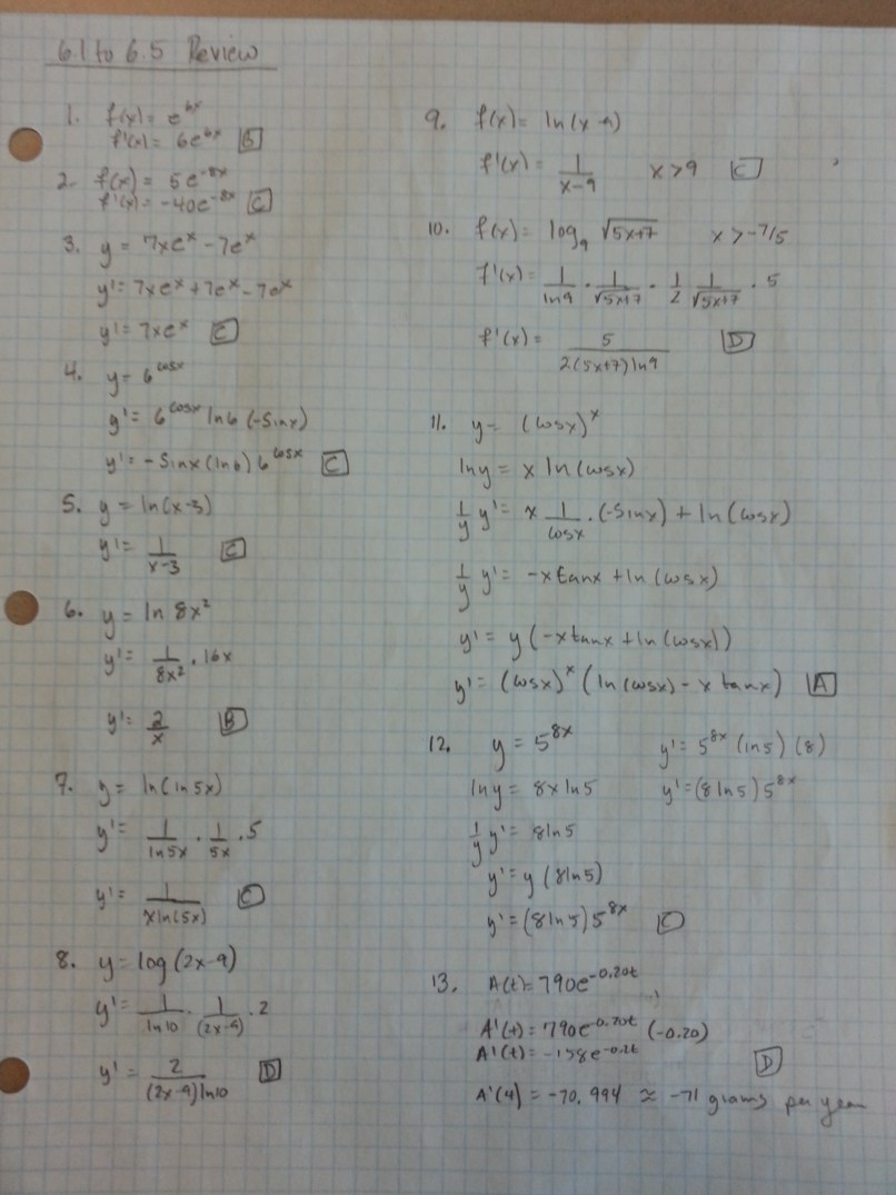 Pre Ap Precalculus Summer Packet Answer Key Find Your World