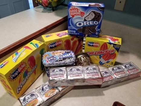 Ice Cream Treats and Walmart Online Grocery Pickup Signal Summer Fun