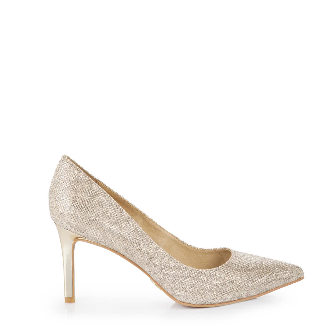 Side By Side Schmal Buffalo Pumps In Gold Buy Online In Buffalo Online Shop Buffalo