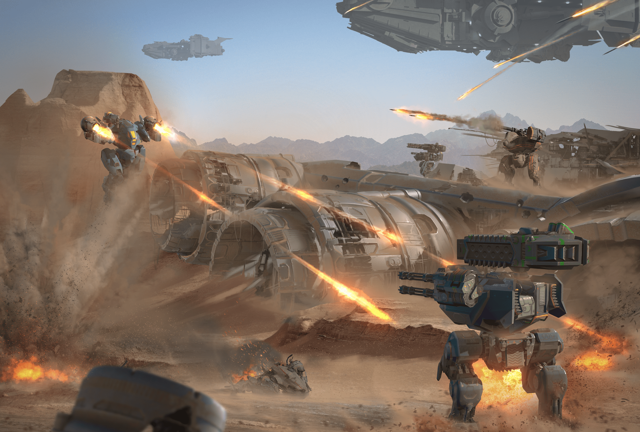 Hangar A Monter Next In War Robots How The Game Feels Plays And Looks War Robots