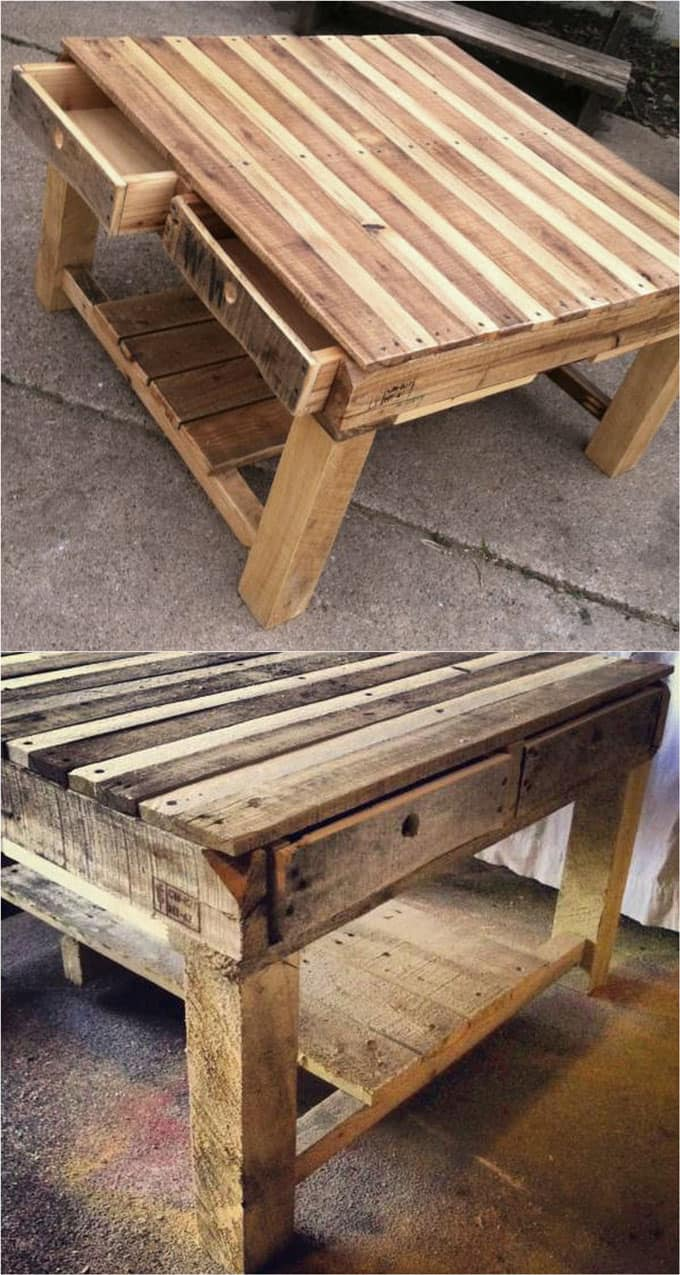 Diy Table With Pallets 12 Easy Pallet Sofas And Coffee Tables To Diy In One Afternoon A