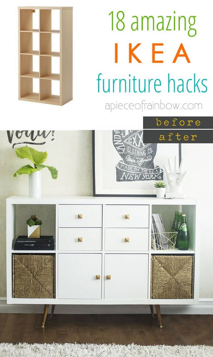 Floating Drawer Ikea Easy Custom Furniture With 18 Amazing Ikea Hacks - Page 3