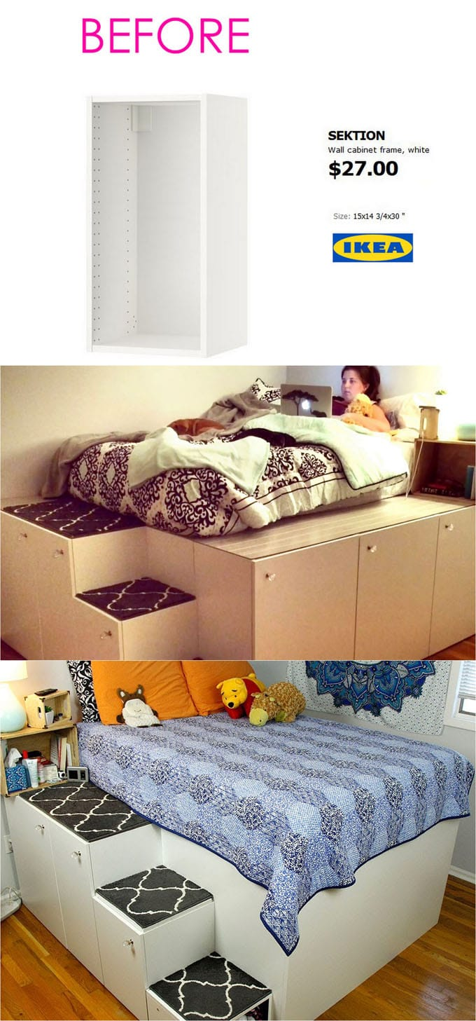 Ikea Expedit Youtube 20 Smart And Gorgeous Ikea Hacks Great Tutorials A Piece