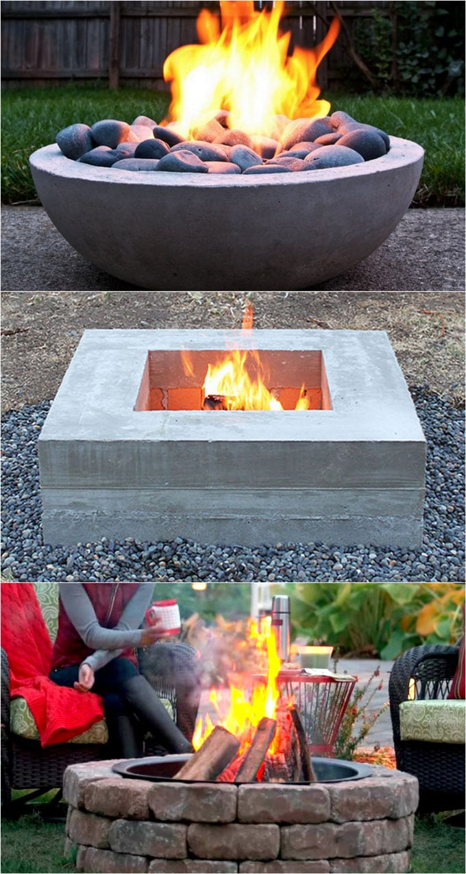 Patio Fire Pit Ideas 24 Best Fire Pit Ideas To Diy Or Buy Lots Of Pro Tips A
