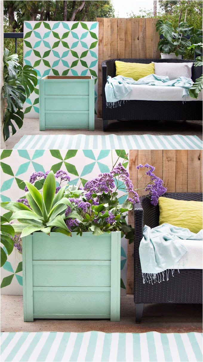 Simple Planters Make Beautiful Wood Planter Boxes 10 Easy Diy A Piece Of