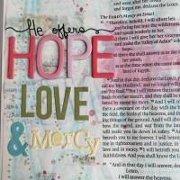 Journaling Bible   Study of Hosea Day 2