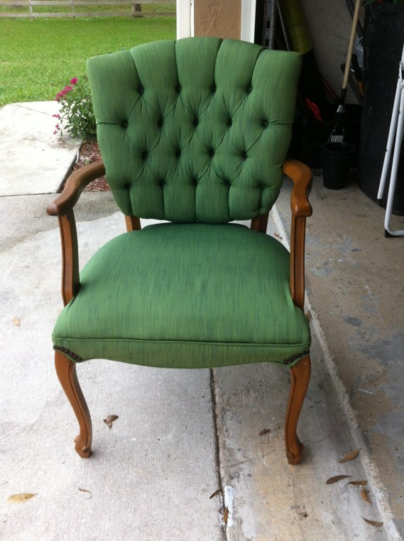 Can I Paint A Fabric Chair With Acrylic Paint
