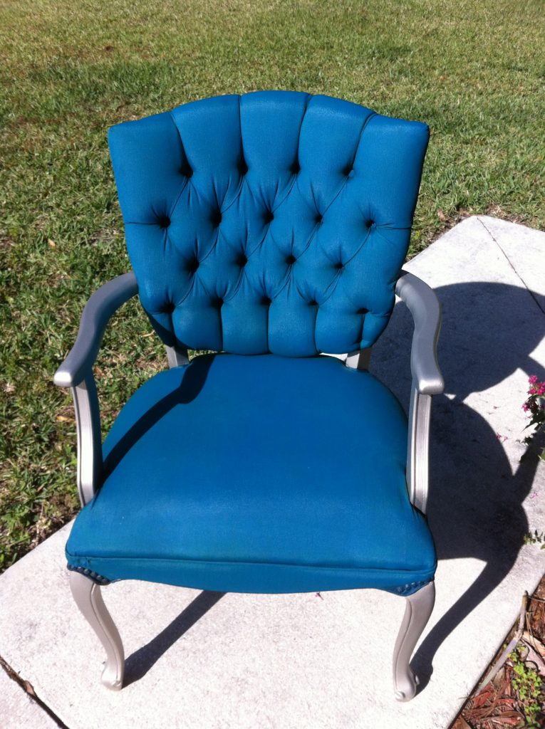 When Is It Too Cold To Paint Outside Tulip Fabric Spray Paint Chair Update - Pinterest Addict