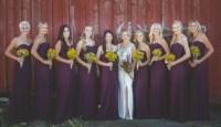 Deep Burgundy Bridesmaid Dresses