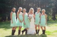 Cowgirl Bridesmaid Dresses - Flower Girl Dresses