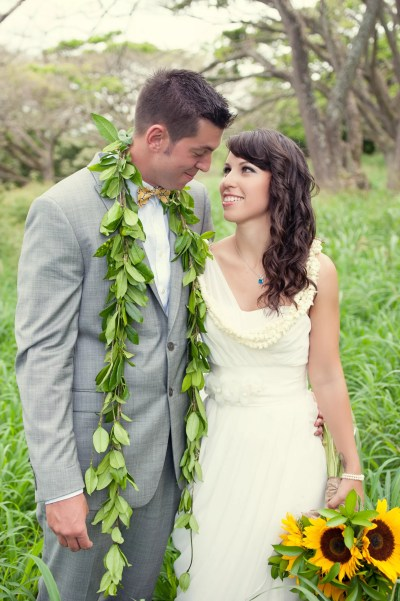 Traditional Hawaiian Wedding Garland