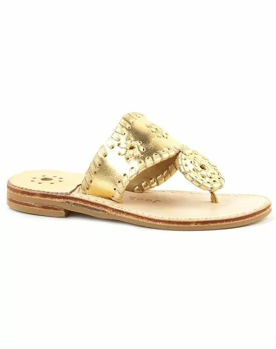 jack rogers monogrammed sandal