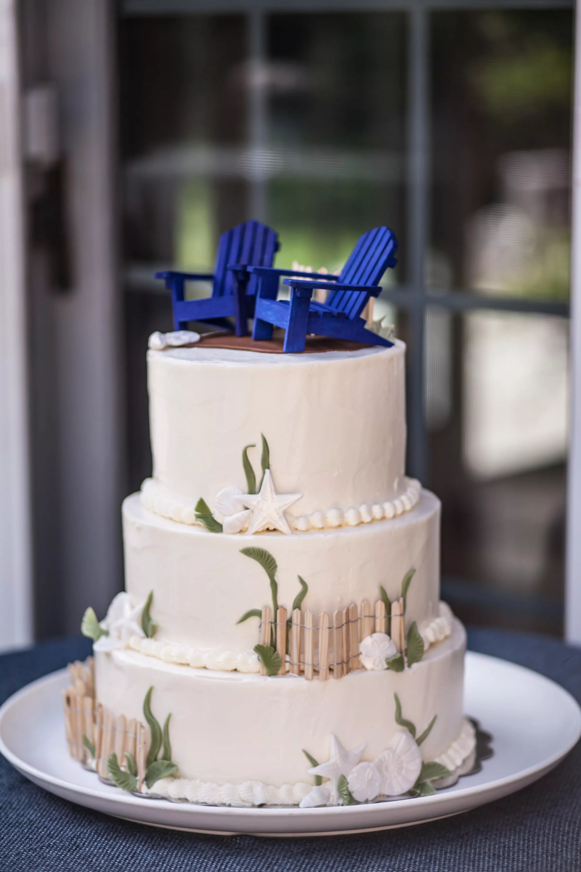 Beach Chair Cake Toppers