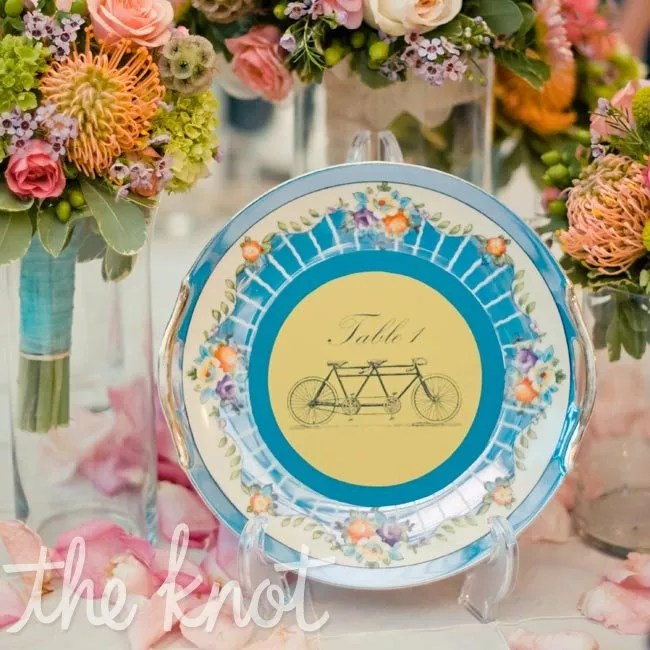 China Plate Table Numbers