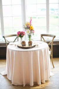 Rustic Sweetheart Table at Historic Rice Mill